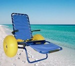 Free at the Associazione Balneari the special beach seat for disable